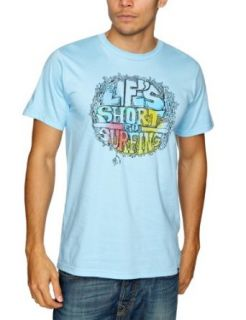 Reef Attention At Sea Slim T Shirt   Short Sleeve   Men's Light Blue, L at  Men�s Clothing store Fashion T Shirts
