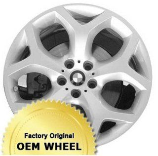 BMW X5,X6 20X11 5 Y SPOKES Factory Oem Wheel Rim  SILVER   Remanufactured Automotive