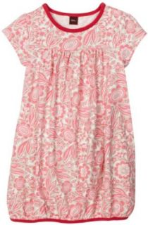 Tea Collection Girls Botanic Garden Playdress, Neon Pink, 12 Playwear Dresses Clothing