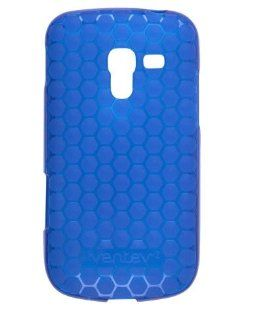 Ventev   Honeycomb Dura Gel Case for Samsung Galaxy Exhilarate SGH I577   Blue Cell Phones & Accessories