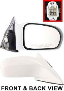 Kool Vue HD35ER NH578 Mirror Corner mount Type Passenger Side RH Plastic Power Automotive