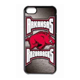 WY Supplier Popular NCAA Arkansas Razorbacks Logo of Apple iphone 5c phone case, Seal 575, Arkansas Razorbacks Apple iphone 5c Premium Hard Plastic Case Covers Cell Phones & Accessories