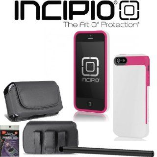 iPhone 5 Incipio FAXION Cover Case White iph 825 with Case that fits your Phone with the Cover on it, Stylus Pen and Radiation Shield. Cell Phones & Accessories