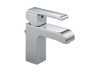 Delta Faucet 586 Arzo Single Handle Lavatory Faucet, Chrome   Touch On Bathroom Sink Faucets