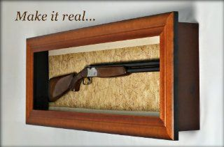 Shotgun Display Case Fall Special   Wall Mounted Display Case   Factory Direct  Pistol Cases  Sports & Outdoors