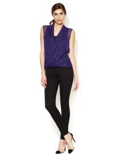 Juliana Cotton Slim Pant by Elie Tahari