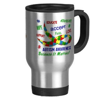 AUTISM AWARENESS MONTH APRIL MUG