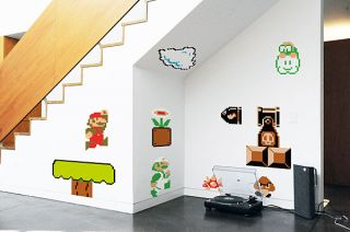 Nintendo Super Mario Bros. Wall Graphics