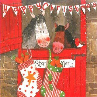 Stable Horses Christmas Cards   Greeting Cards