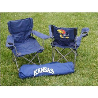 Kansas Jayhawks NCAA Ultimate Junior Tailgate Chair by Rivalry Distributing  Sports Related Tailgating Fan Packs  Sports & Outdoors
