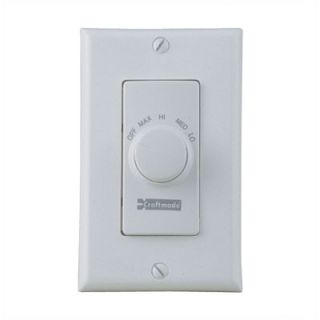 Craftmade Four Speed Ceiling Fan Remote Wall Control in Almond