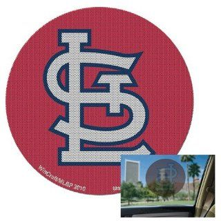St Louis Cardinals MLB Perforated Decal Auto Window Film Glass Logo Baseball Sticker  Sports Fan Wall Decor Stickers  Sports & Outdoors