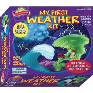 Scientific Explorer's My First Weather Science and Learning Kit Toys & Games