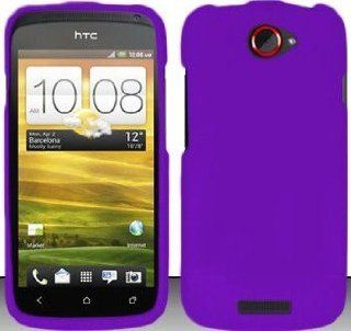 TRENDE   Purple Hard Snap On Case Cover Faceplate Protector for HTC One S T Mobile + Free Texi Gift Box Cell Phones & Accessories