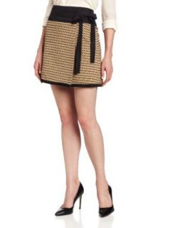 Rachel Roy Collection Women's Straw Jacquard Wrap Skirt