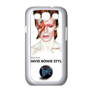 Custom David Bowie Cover Case for Samsung Galaxy S3 III i9300 LSM 1134 Cell Phones & Accessories