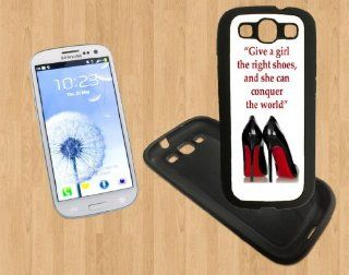 Marilyn Monroe Girl Quote Custom Case/Cover FOR Samsung Galaxy S3 BLACK Rubber Soft Case ( Ship From CA ) Cell Phones & Accessories