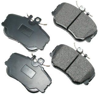 Akebono EUR645 EURO Ultra Premium Ceramic Front Brake Pad Set For 1994 98 Mercedes Benz C Class Automotive