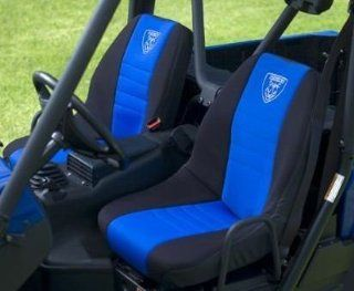Yamaha Rhino 700/660/450 Deluxe Seat Covers. Blue/Black. OEM. SSV 5UG25 20 03 Automotive