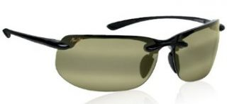 Maui Jim MJ HT412 02 BANYAN sunglasses Gloss Black w/ Maui HT Lens Clothing