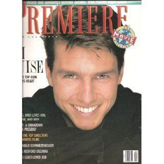 Premiere Magazine July 1988 Tom Cruise Cover and feature Susan Lyne Books