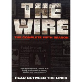 The Wire The Complete Fifth Season (4 Discs)