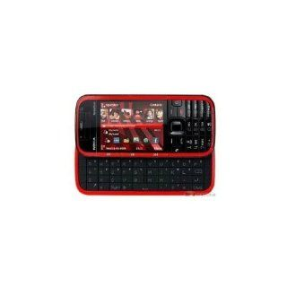 NEW NOKIA 5730XM 3MP WIFI GPS QWERTY UNLOCK SMART PHONE RED Cell Phones & Accessories
