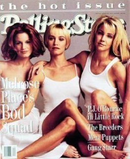 Rolling Stone Cover of Cast of Melrose Place (Women) / Rolling Stone Magazine Vol. 682, May 19, 1994, Movie Print by Mark Seliger   Unframed Prints