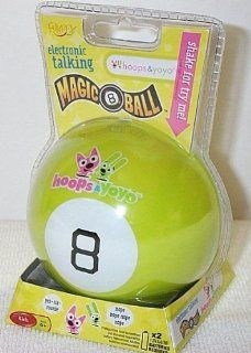 Fundex Hoops and Yoyo Electronic Talking Magic 8 Ball