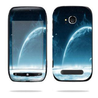 Protective Vinyl Skin Decal Cover for Nokia Lumia 710 4G Windows Phone T Mobile Cell Phone Sticker Skins Outer Space Cell Phones & Accessories