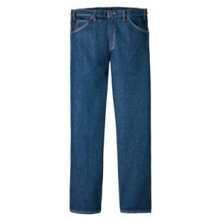 Dickies Mens Regular Fit 5 Pocket Jean   Indigo Blue 32x36