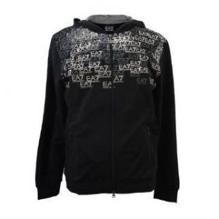 Emporio Armani EA9 Men's Train Premium Hooded Sweatshirt Jacket at  Men�s Clothing store
