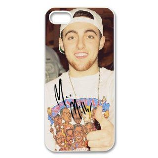 Custom Mac Miller Cover Case for iPhone 5/5s WIP 3807 Cell Phones & Accessories