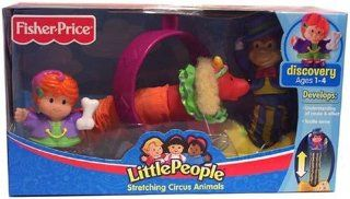 Fisher Price Little People Stretching Circus Animals Toys & Games