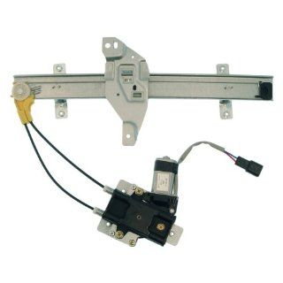 Dorman 741 710 Buick/Oldsmobile Rear Driver Side Window Regulator with Motor Automotive