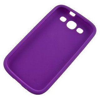 BC Silicone Sleeve Gel Cover Skin Case for AT&T, T Mobile, Sprint, Verizon Samsung Galaxy S III i9300 i747 Purple Cell Phones & Accessories
