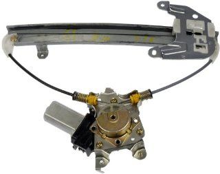 Dorman 748 978 Nissan Altima Rear Driver Side Window Regulator with Motor Automotive