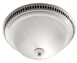 Broan 741WH Decorative Ventilation Fan and Light, White   Bathroom Fans