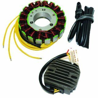 STATOR & REGULATOR RECTIFIER KAWASAKI ZX750 ZX 750 GPZ750 GP Z750 TURBO 1984 1985 Automotive