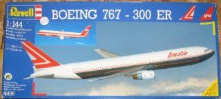 Boeing 767 300 Jet 1/144 Scale Lauda/LTU Airlines Model Airplane Kit Toys & Games