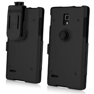 BoxWave LG Optimus L9 P769 AluArmor Jacket   Rugged, Heavy Duty Anodized Aluminum Metal Case for Slim and Durable Protection   LG Optimus L9 P769 Cases and Covers (Jet Black) Cell Phones & Accessories