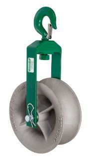 Greenlee 8012 Hook Sheave, 8000 Pound Capacity, 12 Inch