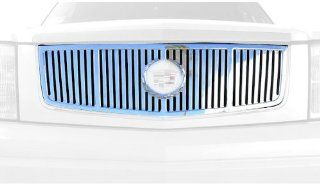 T Rex 61181 Platinum Series Vertical Polished Aluminum CNC Cut Grille Insert Automotive