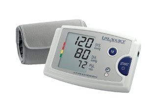 LifeSource UA 787EJ Quick Response Auto Inflate Blood Pressure Monitor with Easy Fit Cuff, Pressure Rating Indicator and AC Adapter Health & Personal Care