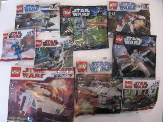 LEGO Star Wars Mini X Wing Starfighter (Dark Packaging) Set 30051 (Bagged) Toys & Games