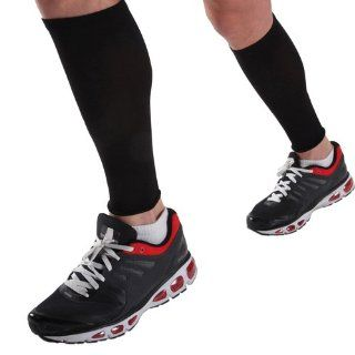 Cramer E4 Ess Calf Compression Sleeve, Large/Black  Medical Support Hose And Socks  Sports & Outdoors