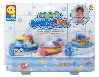 ALEX® Toys  Bathtime Fun Magnetic Boats In The Tub (3) 823W Toys & Games