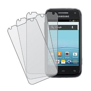 3 Pack Anti Glare Matte Screen Protector for Samsung Galaxy Rush SPH M830 Cell Phones & Accessories