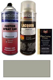 12.5 Oz. Antique Silver Metallic Spray Can Paint Kit for 1991 Isuzu Rodeo (824/N032) Automotive