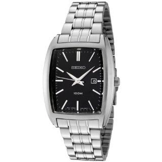 Seiko Men's SXD841P1 Black Dial Stainless Steel Watch at  Men's Watch store.